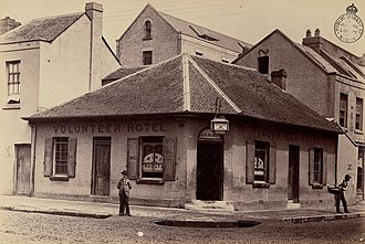 Australian pub - The Volunteer Hotel, Sydney, 1870