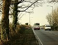 A367 approaching Clandown - geograph.org.uk - 1086155.jpg