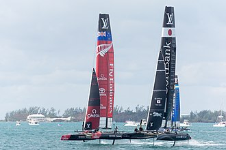2015–16 America's Cup World Series - Image: AC45 World Series Team New Zealand, Team Japan