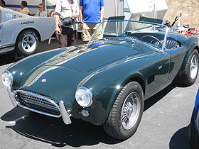 AC Cobra in the pits at Laguna Seca's Historic car races IMG 7156.jpg