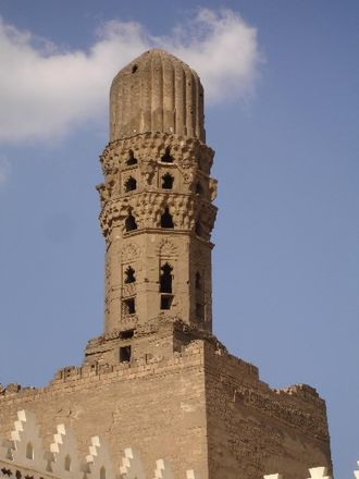 Al-Hakim Mosque - One of the minarets