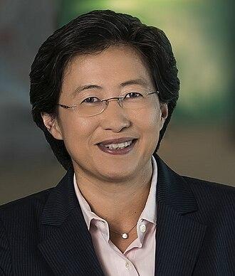 Lisa Su - Image: AMD CEO Lisa Su 20130415 cropped