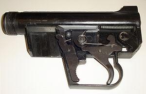 ArmaLite AR-7 - ArmaLite AR-7 Explorer internal parts assembled (left sideplate removed)
