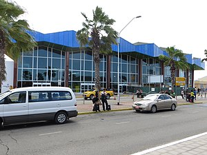 Queen Beatrix International Airport - Image: AUA Arrivals building