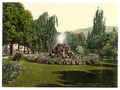 A Fountain in the Allee de Lichtenthal (i.e. Lichtentaler Allʹee), Baden-Baden, Baden, Germany-LCCN2002696326.tif