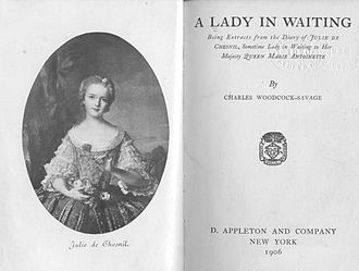 Charles Woodcock - Image: A Lady in Waiting by Charles Woodcock Savage