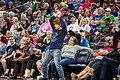 A dancing Minnesota Lynx fan, photo by Lorie Shaull.jpg