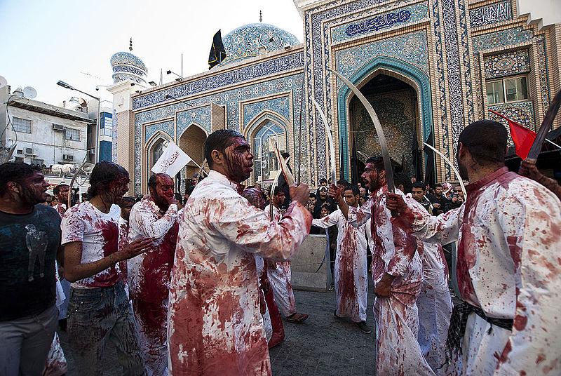File:A day of mourning, annual celebration of Muharram in Bahrain.jpg