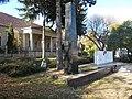 A kúria, a Szovjet obeliszk és a temető, 2017 Dunaújváros.jpg