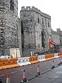 A preview of the new disabled persons' access bridge to Caernarfon Castle - geograph.org.uk - 1052094.jpg