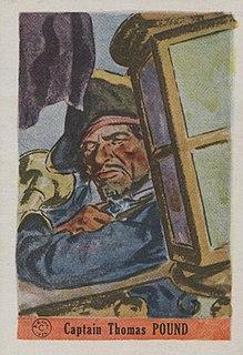 Thomas Pound English pirate