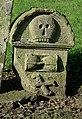 A symbolic stone at Longnewton burial ground - geograph.org.uk - 951350.jpg