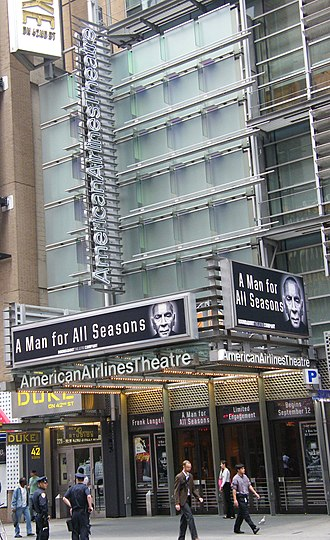 American Airlines Theatre - Image: Aa theatre