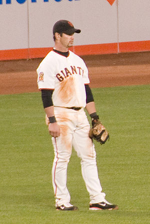 Aaron Rowand - Rowand with the San Francisco Giants