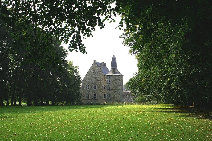Abée   (Belgium), the castle (XVIIIth century).