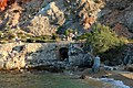 Abandoned sulfur mines, Milos, one adit entrance, 153101.jpg