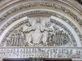 Abbaye Vezelay-tympan