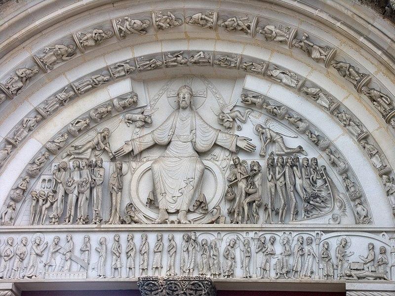 Notre-Dame de Paris - Page 2 800px-Abbaye_Vezelay-tympan