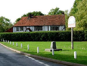 Abberton, Essex - Village sign for Abberton and Langenhoe
