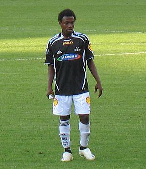 Abdou Razack Traoré - Traoré playing for Rosenborg in 2007