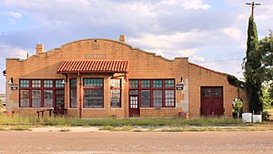 National Register of Historic Places listings in Taylor County, Texas - Image: Abilene and Northern Railway Company Depot