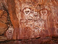 Aboriginal rock art on the Barnett River, Mount Elizabeth Station.jpg