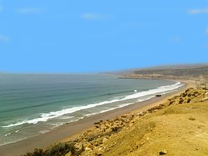 Taghazout - Abouda beach (27 km from Agadir)