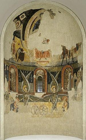Apse of Santa Maria, Àneu