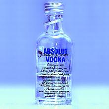 Absolut Vodka – Wikipédia, a enciclopédia livre