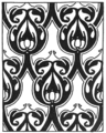 Abstract repeating design 45 by Ernest A Batchelder.png