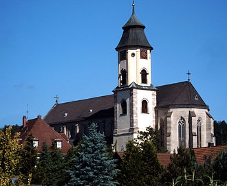 Abtsgmünd - Image: Abtsgmuend Pfarrkirche