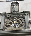 Achberg, das Schloss, Wappen des Deutschen Ordens.jpg