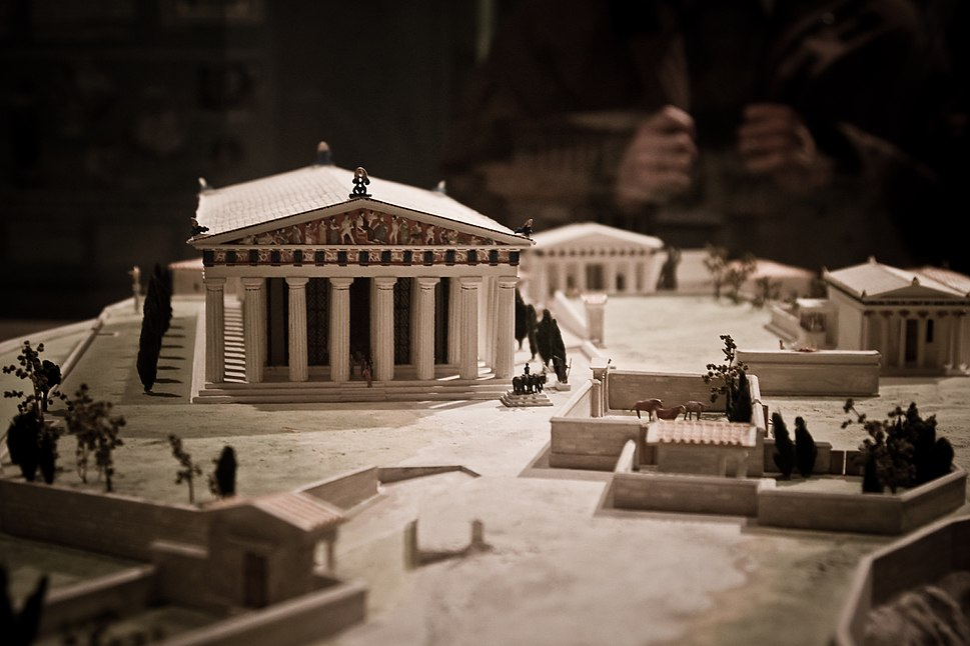 Acropolis architectural model