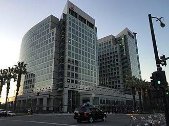 Downtown San Jose - Image: Adobe World Headquarters 1 2015 01 03