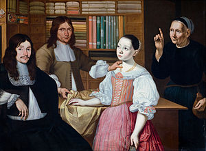 Draper - In the Draper's Shop by Adriaen Bloem