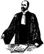 Advokat, Fransk advokatdräkt, Nordisk familjebok