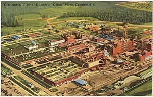 DuPont - DuPont's Orlon plant in Camden, South Carolina, c. 1930–1945