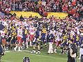 Aftermath of 2009 Poinsettia Bowl 1.JPG