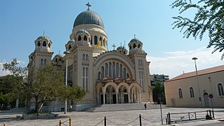 Cathedral of Saint Andrew, Patras Church in Patras, Greece