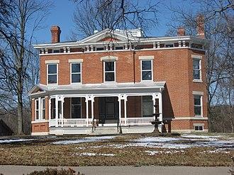 Deerfield Township, Warren County, Ohio - Ahimaaz King House