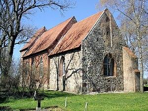Ahrenshagen-Daskow - The church of Ahrenshagen-Daskow