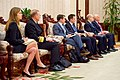 Aides to Secretary Kerry Listen As He Addresses Laotian Prime Minister Thammavong at Outset of Bilateral Meeting in Vientiane (24569874396).jpg