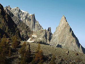 Aiguille Noire de Peuterey - Image: Aiguilles Peuterey 0002