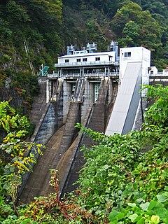 Aimata Dam Dam in Lower Miyasaka, Greater Aimata, Minakami, Tone District, Gunma Prefecture, Japan
