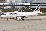 Air France, F-GRHX, Airbus A319-111 (40665017943).jpg
