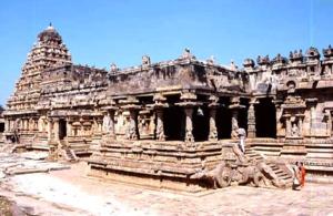 Rajaraja Chola II - Airavateswarar Temple, Darasuram c. 1200