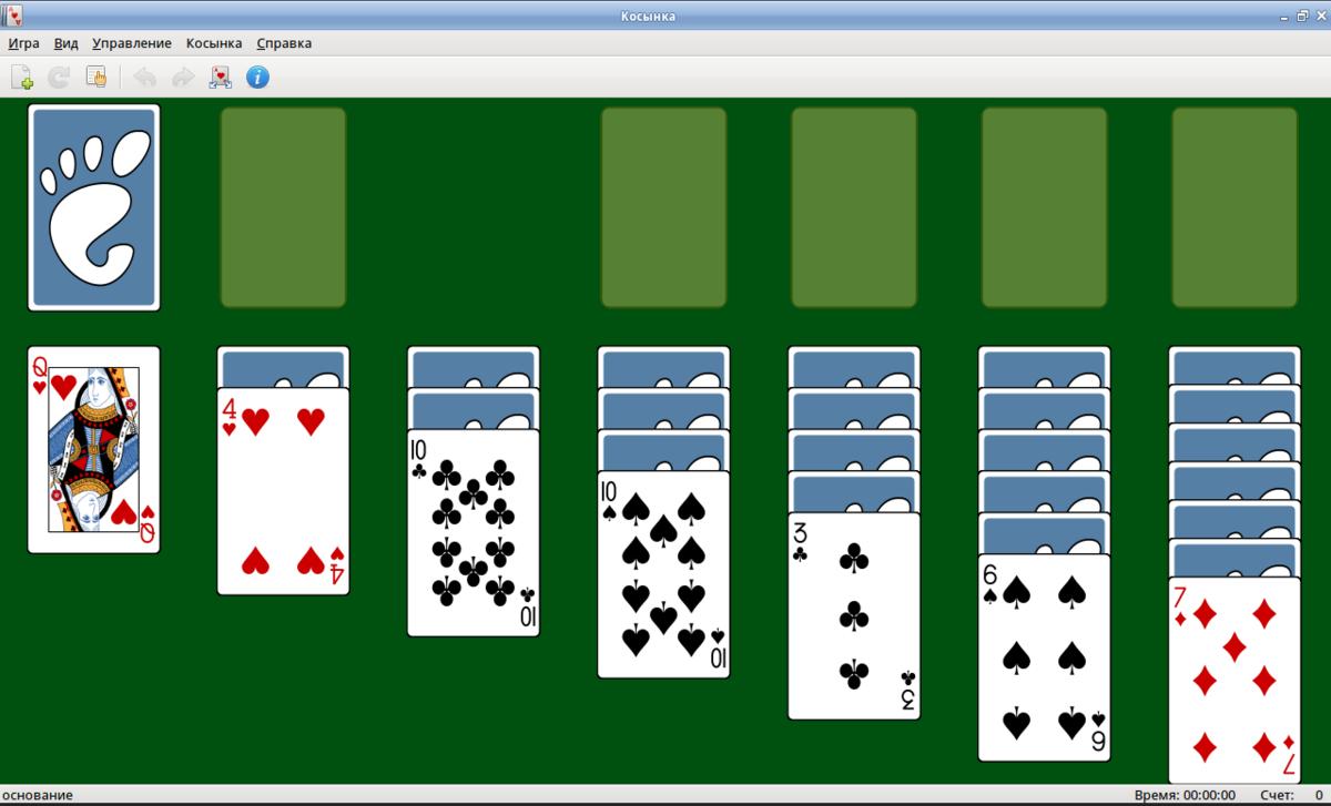 онлайн пасьянс бесплатно картах в играх в играть