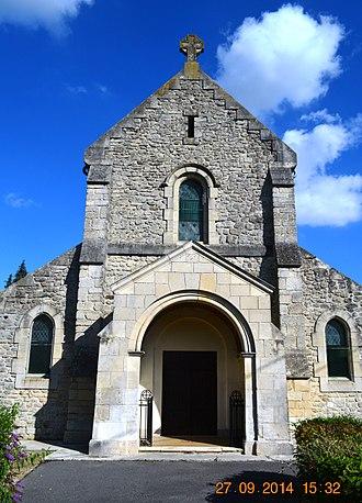 Aizelles - The Church of Saint Quentin