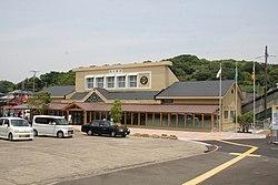 駅舎(2014年6月1日)