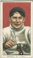 Al Bridwell, New York Giants, baseball card portrait LCCN2008676474.tif